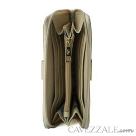 Carteira de Couro Feminina Cavezzale Vanilla 102595