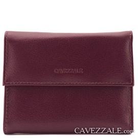 Carteira de  Couro Feminina Grande Cavezzale Burgundy 099034