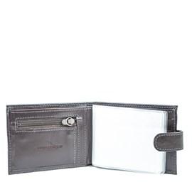 Carteira de Couro Masculina Grande Cavezzale Café 056081