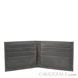 Carteira De Couro Masculina Grande Cavezzale Café 056134