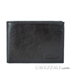 Carteira De Couro Masculina Grande Cavezzale Café 097284