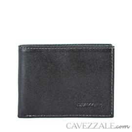 Carteira de Couro Masculina Média Café Cavezzale 056183
