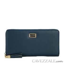 Carteira Feminina Grande Cavezzale Azul 101251