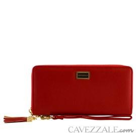 Carteira Feminina Grande Cavezzale Vermelho 101251