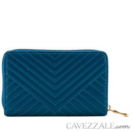Carteira Feminina Média Cavezzale Azul 101329