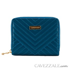 Carteira Feminina Pequena Cavezzale Azul 101330