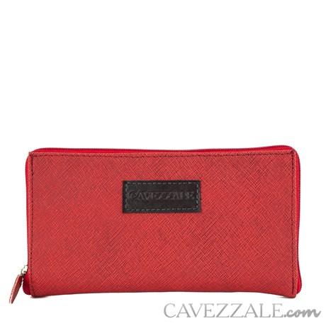 Carteira Sacola Dobravel Cavezzale Vermelho 0101260