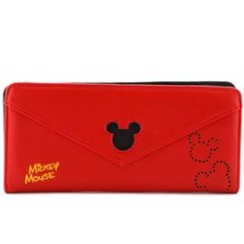 Carteira Sintético Mickey Mouse Vermelho 0100082