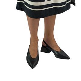 Chanel Feminino em Couro Petit Croco Preto Cavezzale 0102117