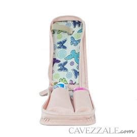 Estojo Higiene de Couro Feminino Cavezzale Rose 102592