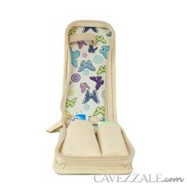 Estojo Higiene de Couro Feminino Cavezzale Vanilla 102592