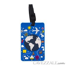 Identificador de Bagagem Cavezzale Azul 101226
