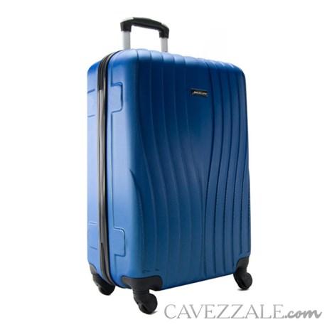 Mala de Bordo Azul Zigma Sestini em ABS 098765