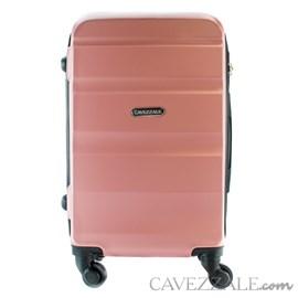Mala de Bordo Cavezzale em ABS Amalfi Rose 100831