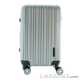 Mala de Bordo Cavezzale em ABS Capri Prata 101716