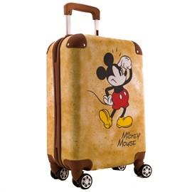 Mala de Bordo Mickey Mouse em ABS Champanhe 0100653