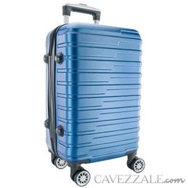 Mala de Viagem Grande Azul ABS Cavezzale Bergamo 0101516