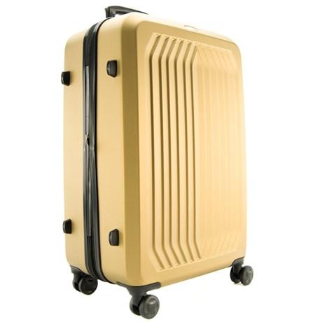 Mala De Viagem Grande Dourado Abs Cavezzale Florença 098306