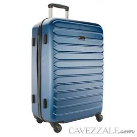 Mala De Viagem Grande Gosuper Monaco Abs Azul Jeans 102423