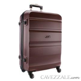 Mala de Viagem Grande Marrom ABS Cavezzale Amalfi 101690