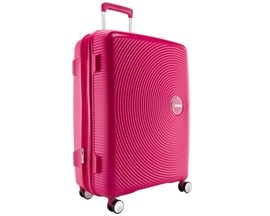 Mala De Viagem Grande Rosa Curio American Tourister Em Polipropileno 099578