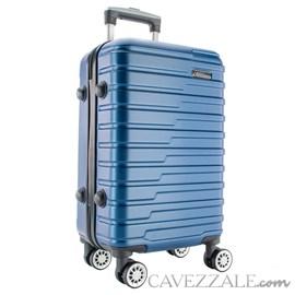 Mala de Viagem Média Azul ABS Cavezzale Bergamo 0101515