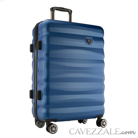 Mala de Viagem Média Azul Abs Rígida Cavalera 102696