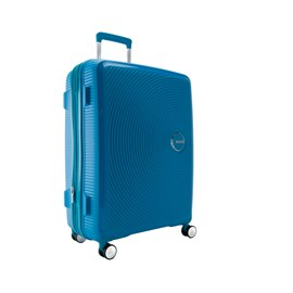 Mala De Viagem Média Azul Curio American Tourister Em Polipropileno 099577