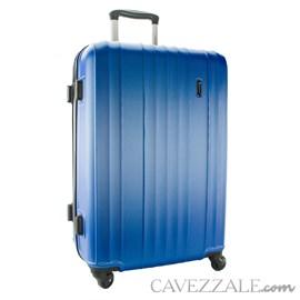 Mala De Viagem Média Gosuper Monaco Abs Azul Jeans 102422