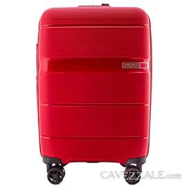 Mala de Viagem Média Linex American Tourister Vermelho em Polipropileno 0101209