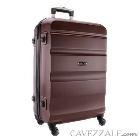 Mala De Viagem Média Marrom Abs Cavezzale Amalfi 0100832