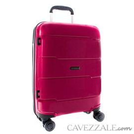 Mala De Viagem Média Pink Em Polipropileno Cavezzale Napoles 0100339