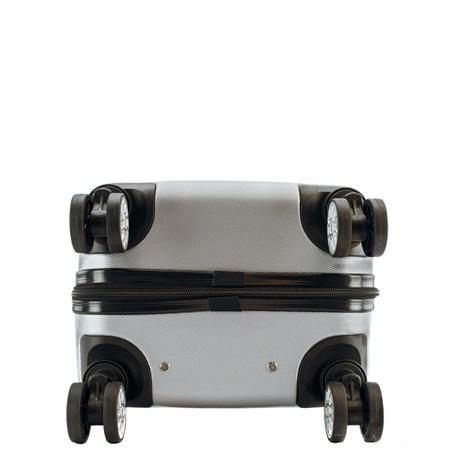 Mala de Viagem Média Prata ABS Cavezzale Bergamo 0101515
