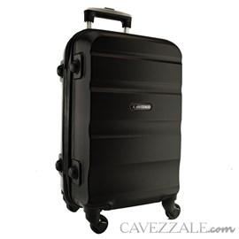 Mala de Viagem Média Preto ABS Cavezzale Amalfi 100832