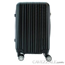 Mala de Viagem Média Preto ABS Cavezzale Capri  101717