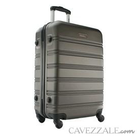 Mala de Viagem Média Swissport Abs Rígida Cinza Escuro 102723