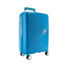 Mala De Viagem Pequena Azul Curio American Tourister Em Polipropileno 099576