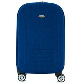 Mala De Viagem Pequena Cavezzale Azul em Poliéster Torino II 099968