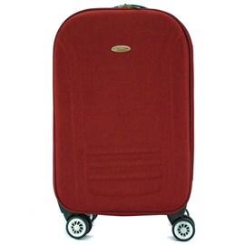 Mala De Viagem Pequena Cavezzale Vermelho Em Poliéster Torino Ii 099968
