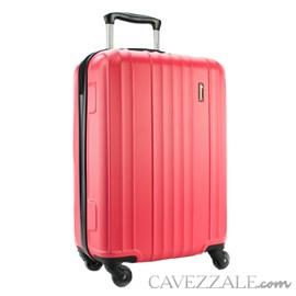 Mala De Viagem Pequena Gosuper Califórnia Abs Vermelho 102418