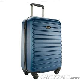 Mala De Viagem Pequena Gosuper Monaco Abs Azul Jeans 102421