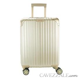 Mala De Viagem Pequena Gosuper Suíça Dourado 102424