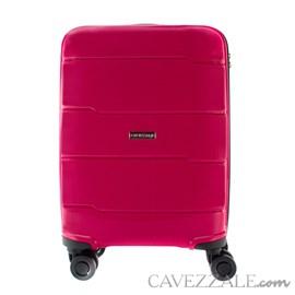Mala De Viagem Pequena Pink em Polipropileno Cavezzale Napoles 0100338