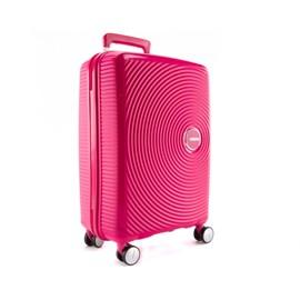Mala De Viagem Pequena Rosa Curio American Tourister Em Polipropileno 099576
