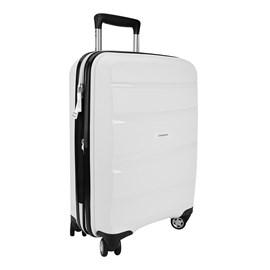 Mala de Viagem Samsonite Spin Air Média Branco Polipropileno 056141