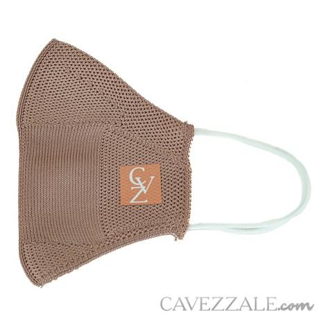 Máscara Anatômica Knit Cavezzale Nude 102136
