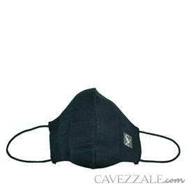 Máscara Anatômica Knit Cavezzale Preto 102136