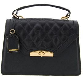 Mini Bag de Couro Feminina Cavezzale Preto 099598
