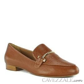 Mocassim de Couro Cavezzale Camel 102301