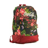 MOCHILA BLOOM COCA-COLA FLORAL  097579